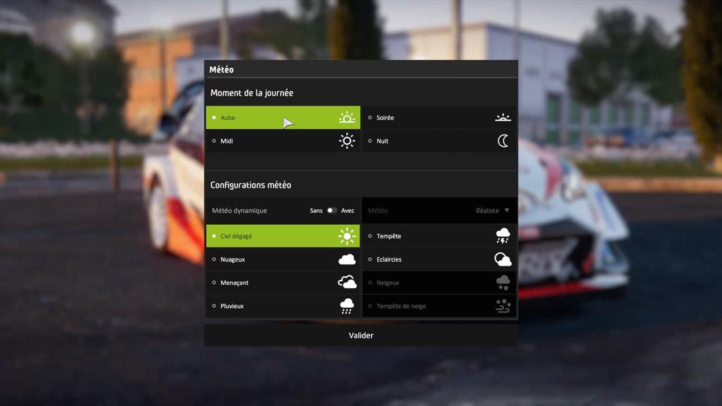 reglage_meteo-1024x576 Mon avis sur WRC 8 – Le challenger est là !