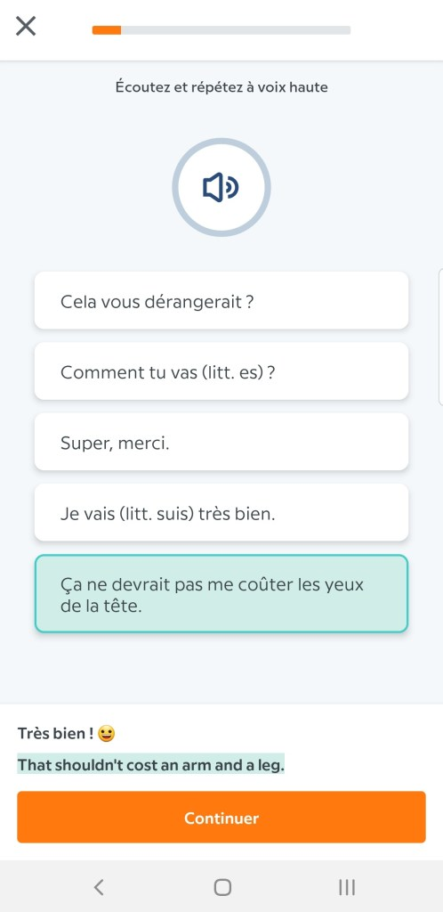 Screenshot_20191128-200847_English-498x1024 Babbel - Ou apprendre l'anglais sur son smartphone
