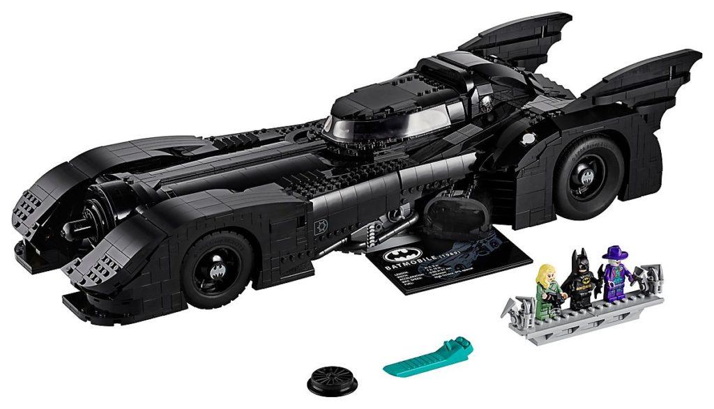 lego-batmobile-1989-1-1024x587 Lego - Une réplique de la Batmobile des films de Tim Burton (1989)