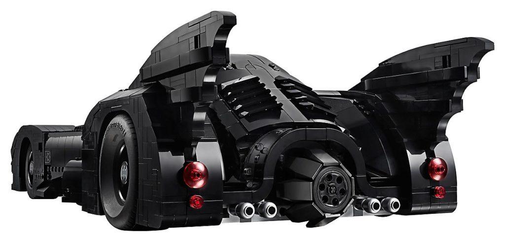 lego-batmobile-1989-5-1024x491 Lego - Une réplique de la Batmobile des films de Tim Burton (1989)