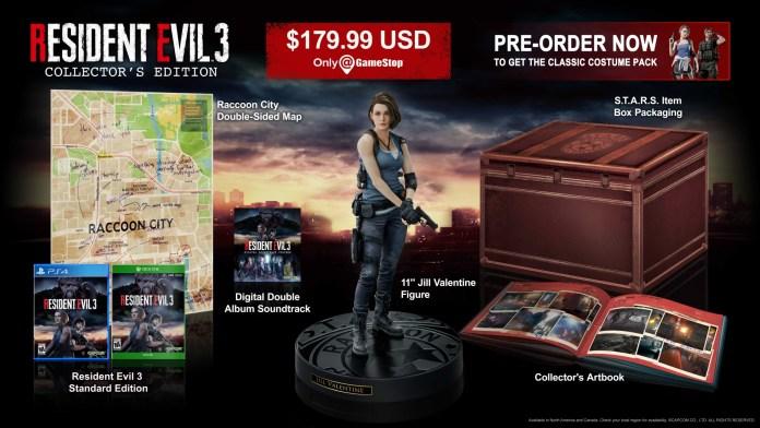 resident-evil-3-remake-collector-1024x576 Un collector pour le remake de Resident Evil 3