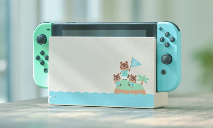 Nintendo-Switch-édition-limitée-Animal-Crossing-New-Horizons Une Switch Collector aux couleurs d'Animal Crossing (Dès 359€)