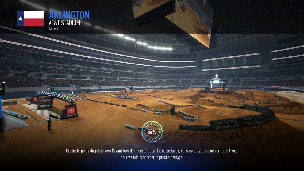 circuit Mon avis sur Monster Energy Supercross 3 - Attention à la chute !