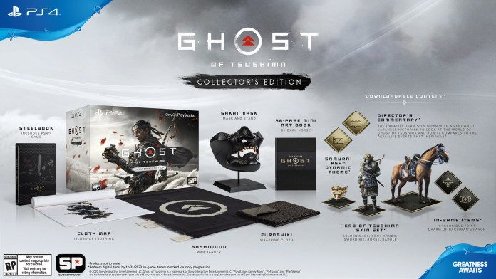 ghost-of-tsushima-collector-ps4-696x392 Ghost of Tsushima - Les éditions spéciales et collector
