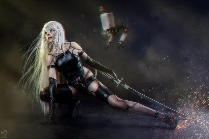a2-neir-cosplay-06-696x464 Cosplay - Nier Automata a2 #201