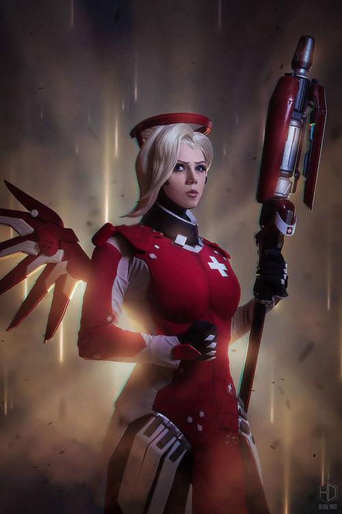 mercy-cosplay-02 Cosplay - Overwatch - Mercy #205
