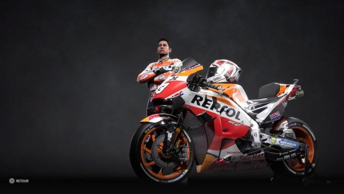 MotoGP20_ShowRoom2 Mon avis sur Moto GP20 - Wheeling power !