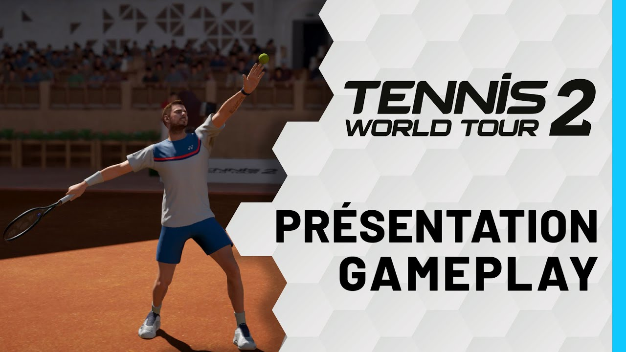 Tennis World Tour 2 annoncé au travers d'un trailer – Games & Geeks