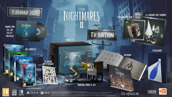 edition-collector-Little-Nightmares-2 Little Nightmares II présente l'édition TV
