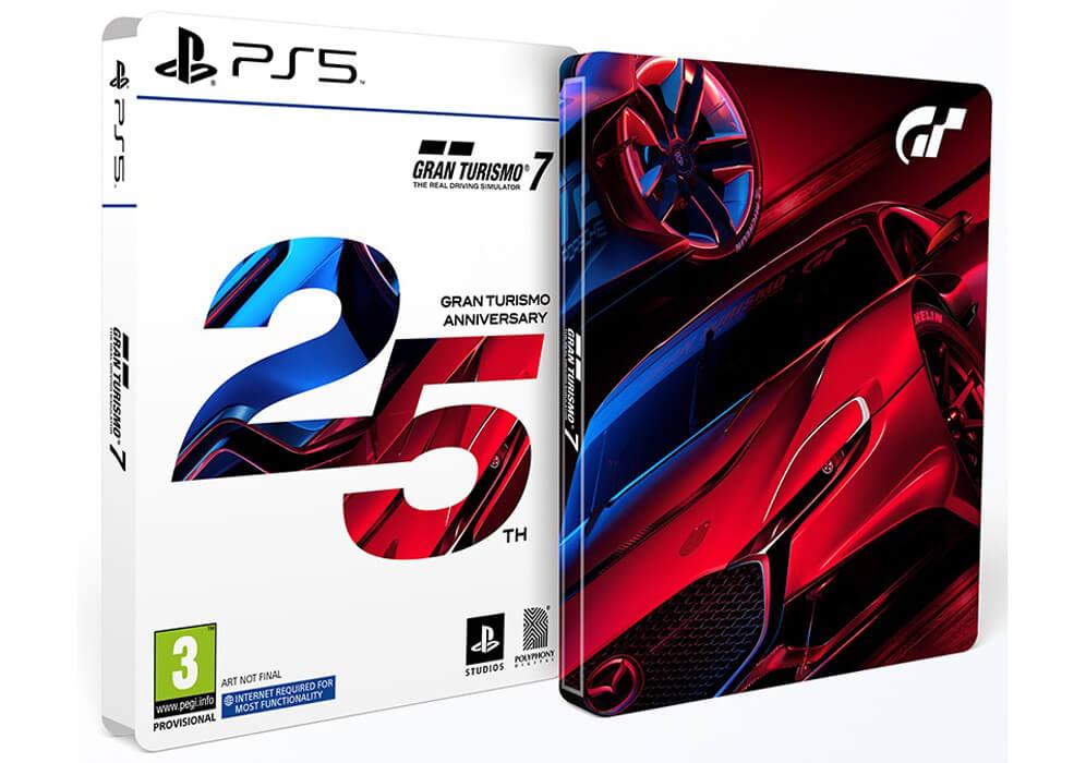 edition-steelbook-Gran-Turismo-7 Une édition spéciale 25ème anniversaire pour Gran Turismo 7!