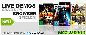 Gamesload bietet noch mehr Spiele
