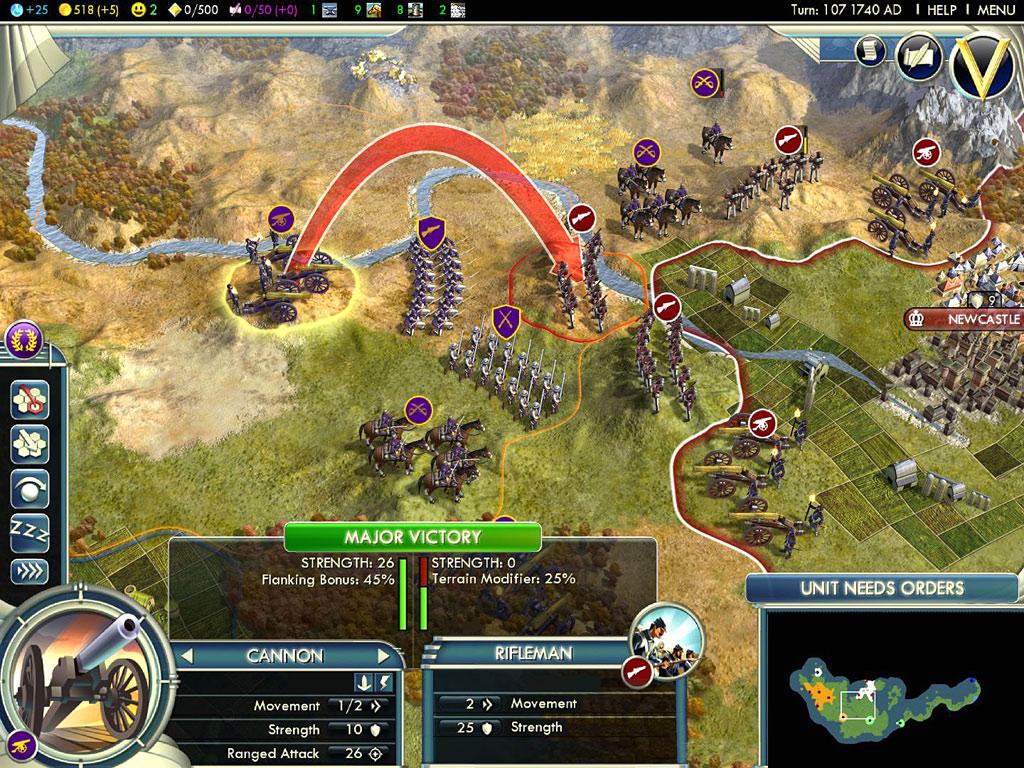 Gratis Civilization V spielen