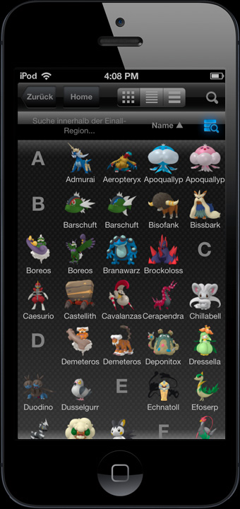 Pokémon-App