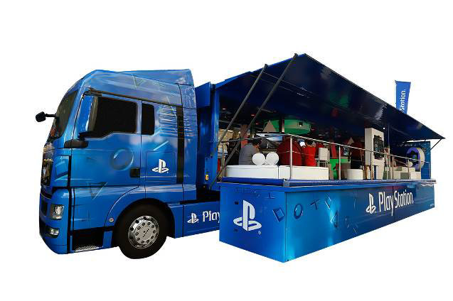 PlayStation-Truck on Tour