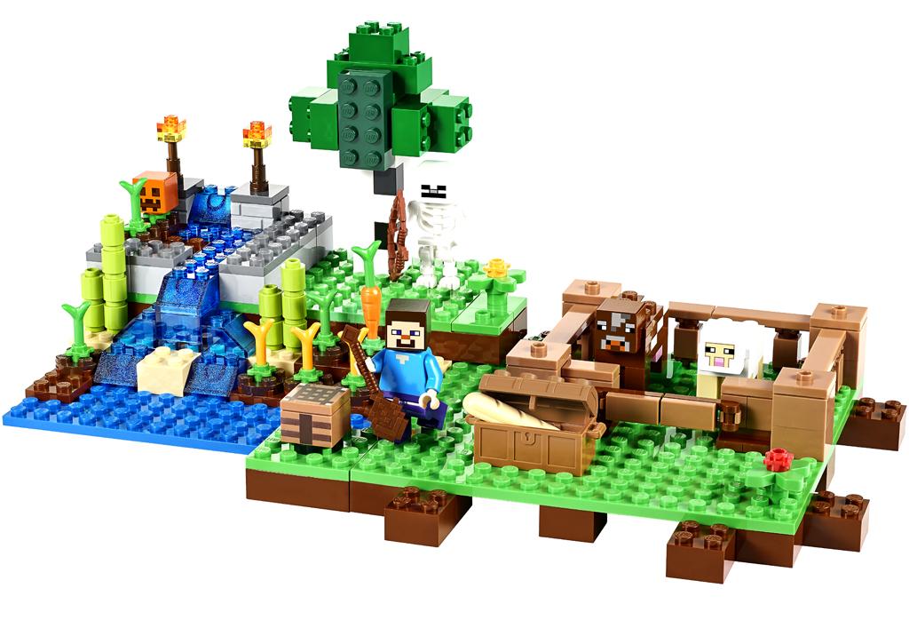 Minecraft dank Lego zum Anfasssen