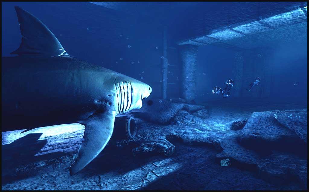 DEPTH – Sharks vs. Men
