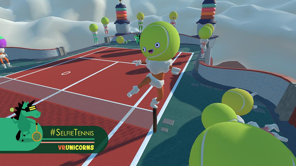 #Selfie Tennis