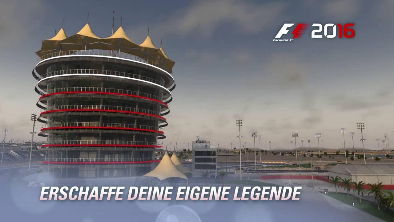 Umfangreicher Karriere-Modus in F1 2016