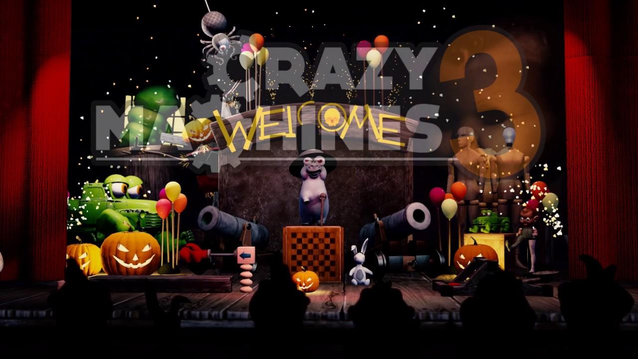 Crazy Machines 3 wird gruselig