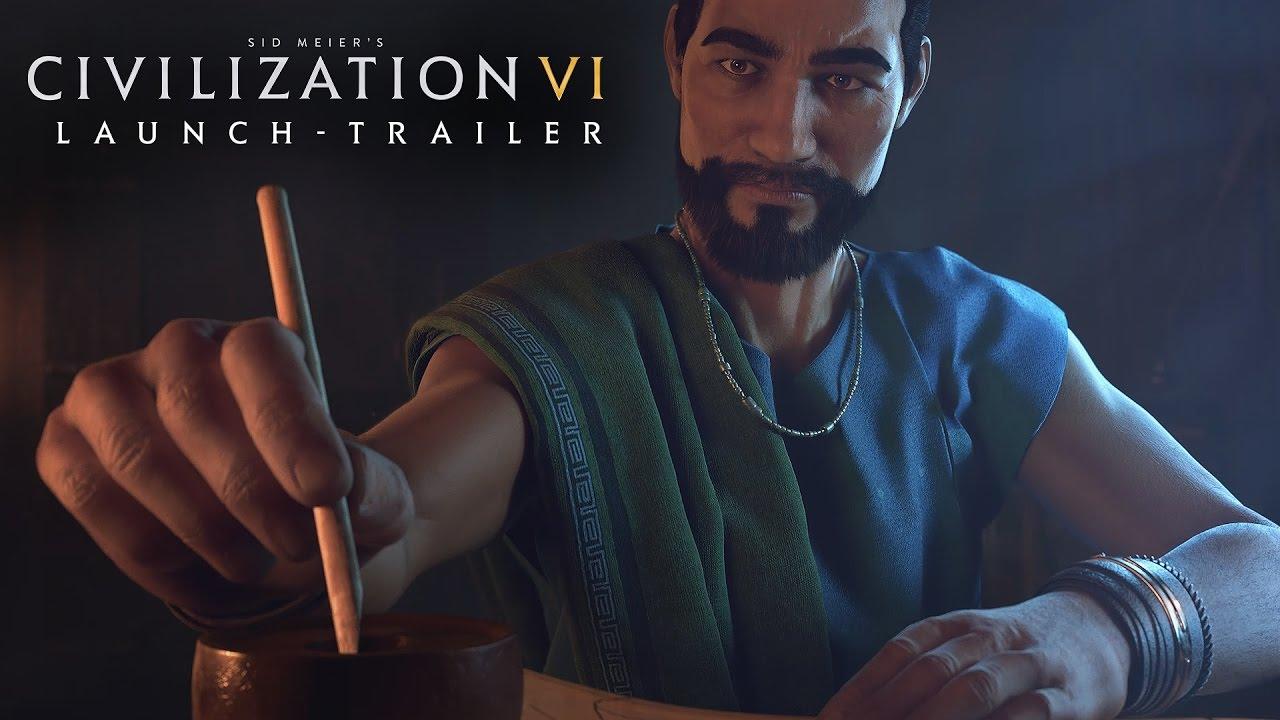 Launch-Trailer zu Sid Meier´s Civilization VI