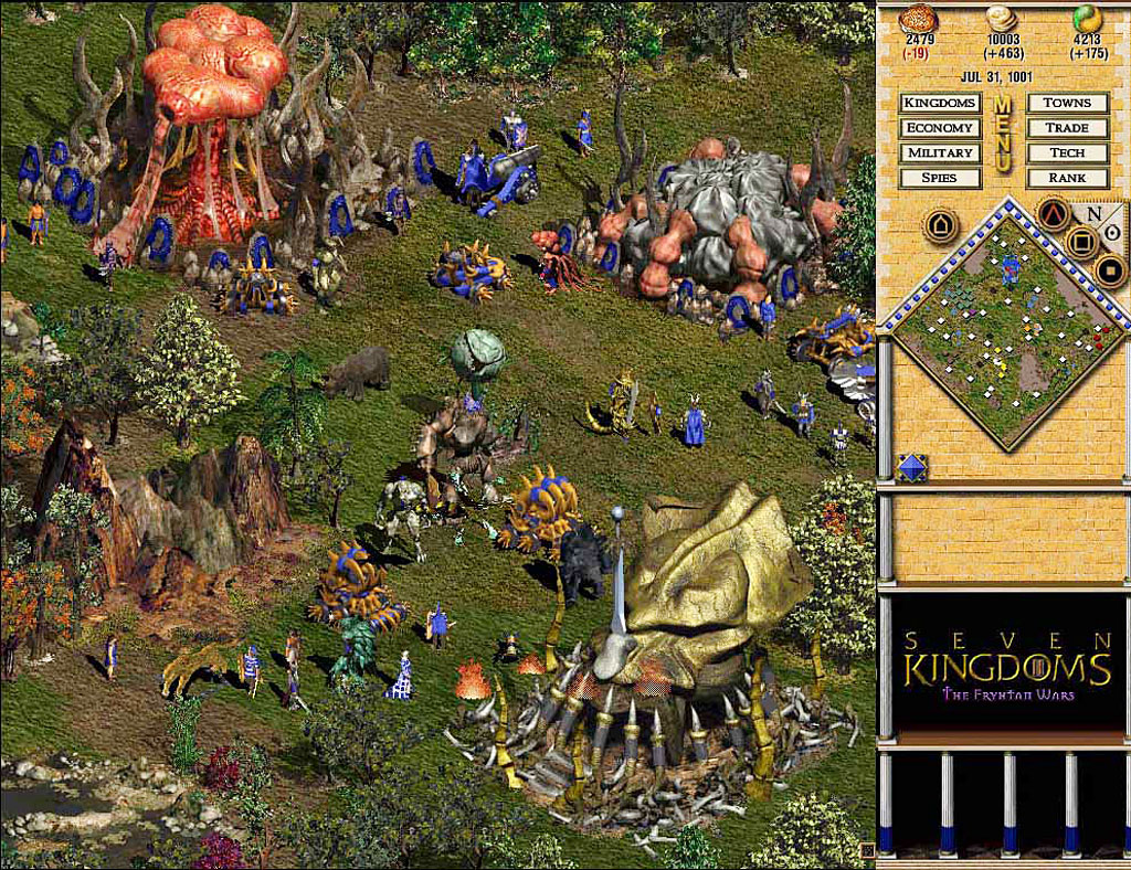 Seven Kindgoms 2: The Frythan Wars