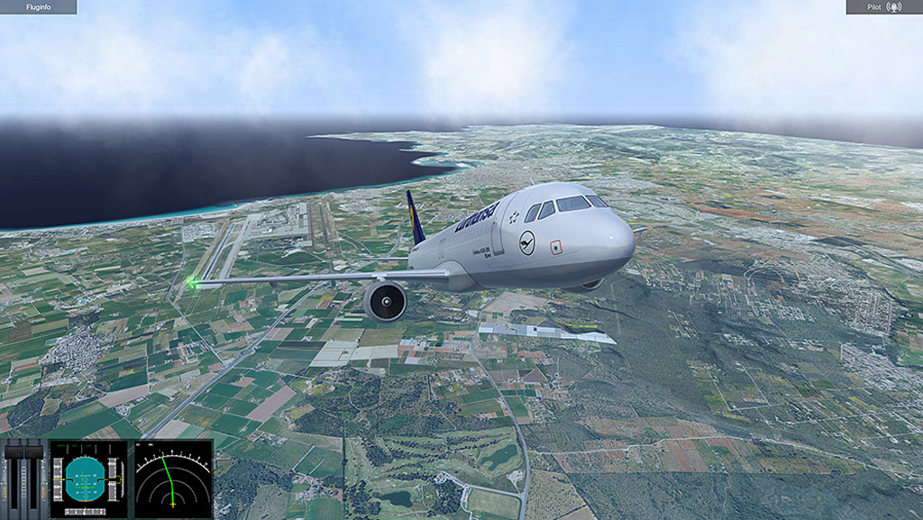 Urlaubflug Simulator