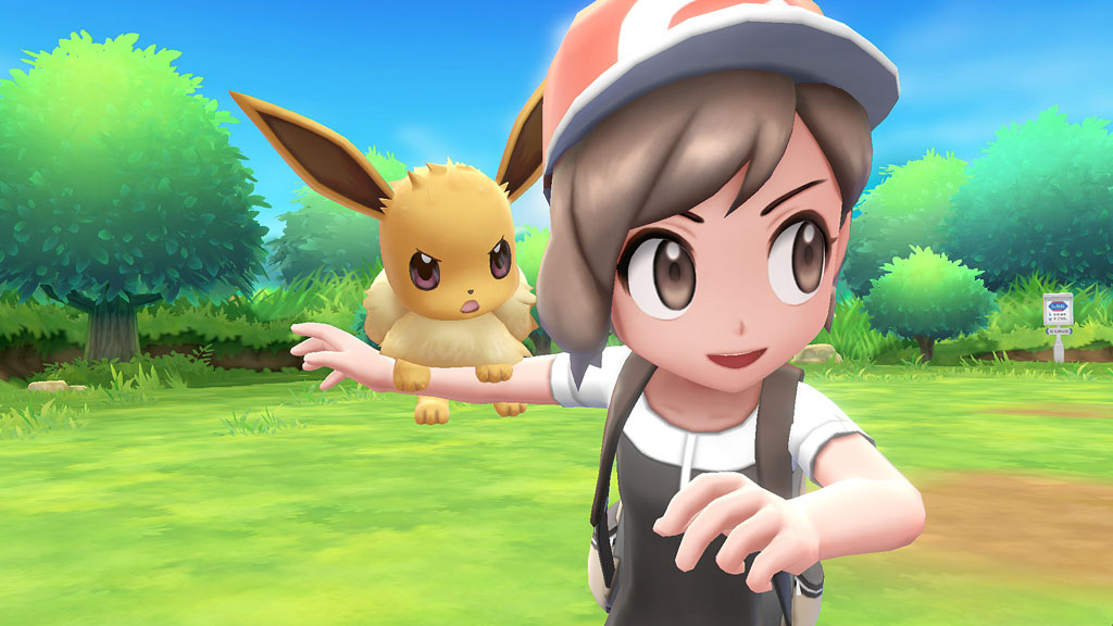 Pokémon: Let´s Go, Evoli!