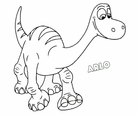 Arlo Coloring The Good Dinosaur Games