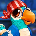 G4K PG Cute Blue Parrot Escape