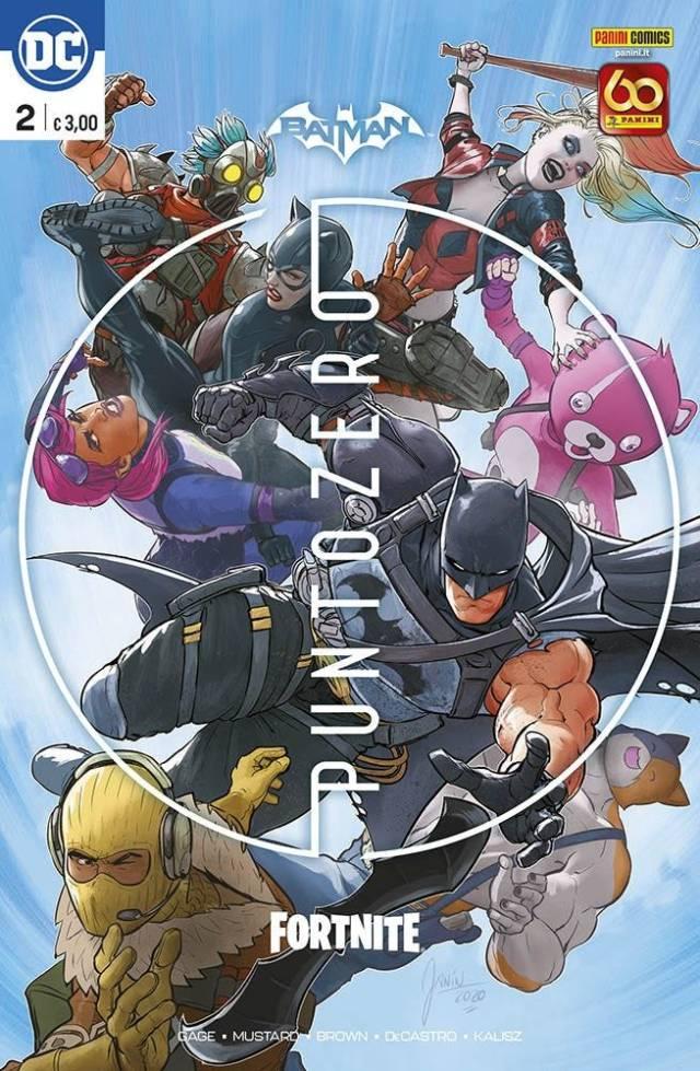 Batman-Fortnite Punto Zero #2 Regular Cover