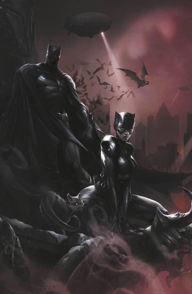 Batman Catwoman #1 Variant Cover