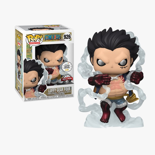 Funko Pop! Exclusives Games Academy Animation 926 One Piece Luffy Gear Four