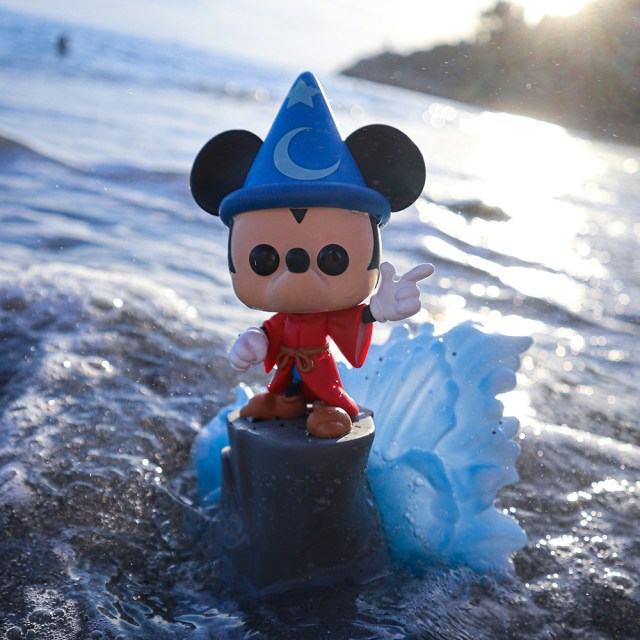 Funko Pop! Exclusives Games Academy Disney 481 Sorcerer Mickey (S.Fight)