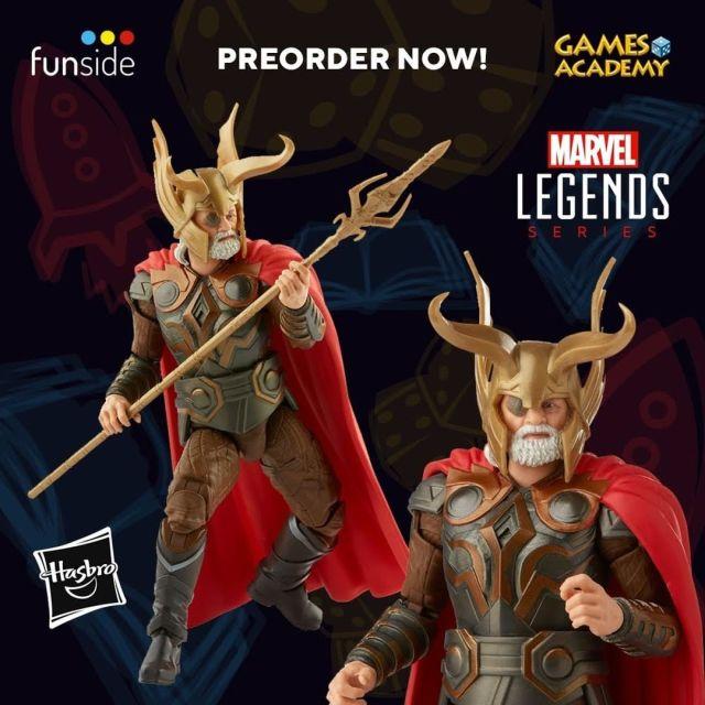 Hasbro Action Figure Marvel Legends Odin