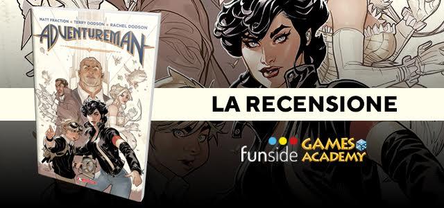 Adventureman La Recensione Banner