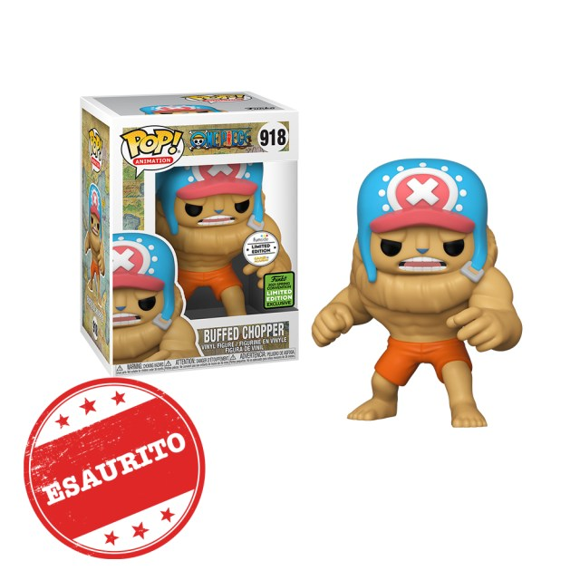 Funko Pop! Exclusives Games Academy Animation 918 One Piece Buffed Chopper Esaurito