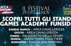 Lucca '21 - Stand Games Academy Funside Banner