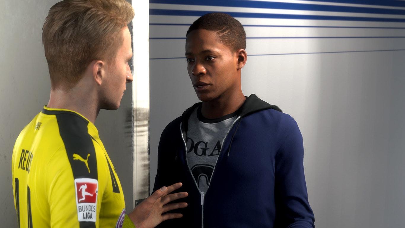 FIFA 18 Journey Mode