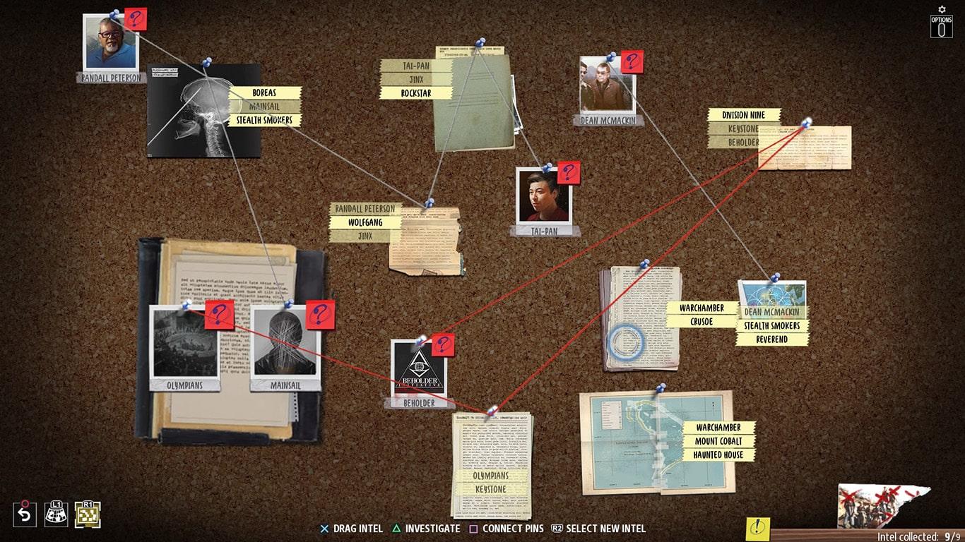 Phantom-Doctrine's-Conspiracy-Board