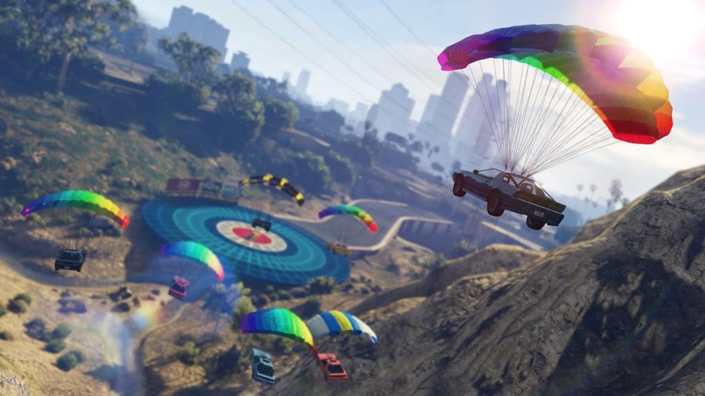 How to Use GTA V Parachute