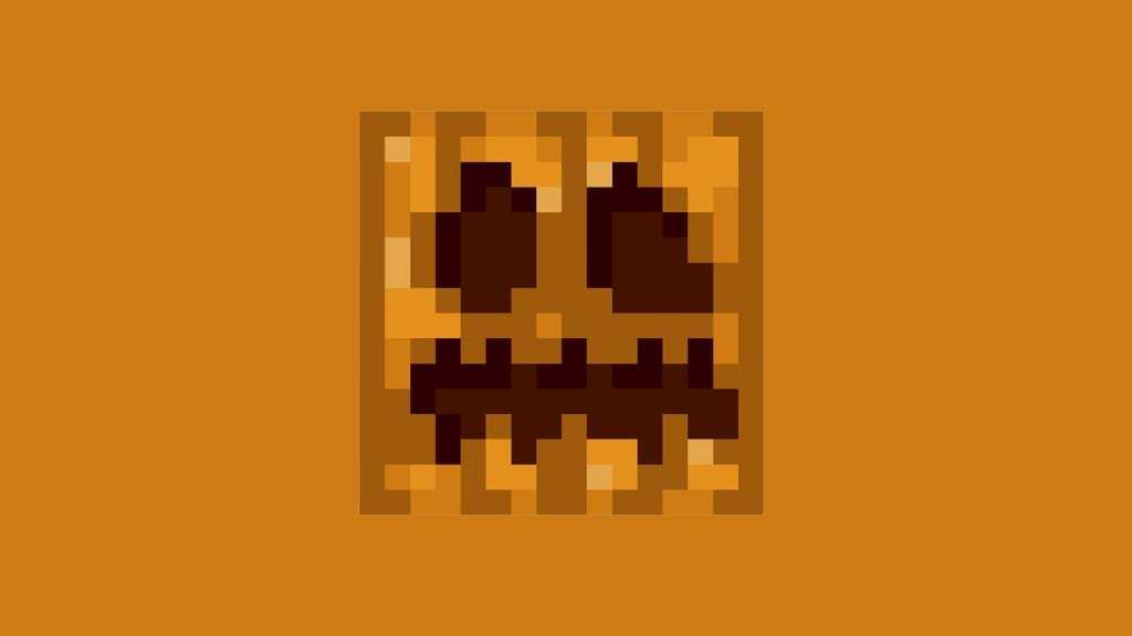 Carve Pumpkin in Minecraft