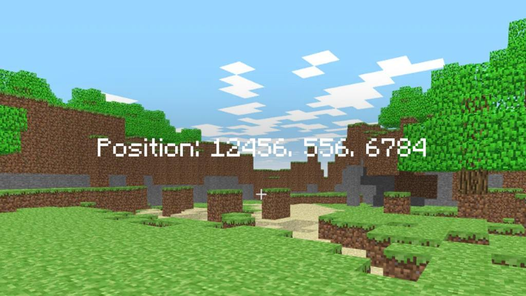 Show Coordinates in Minecraft