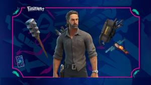 The Walking Dead's Rick Grimes Comes to Fortnite