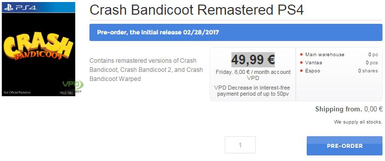 noticia-videogame-crash-bandicoot-remaster-data-revelada