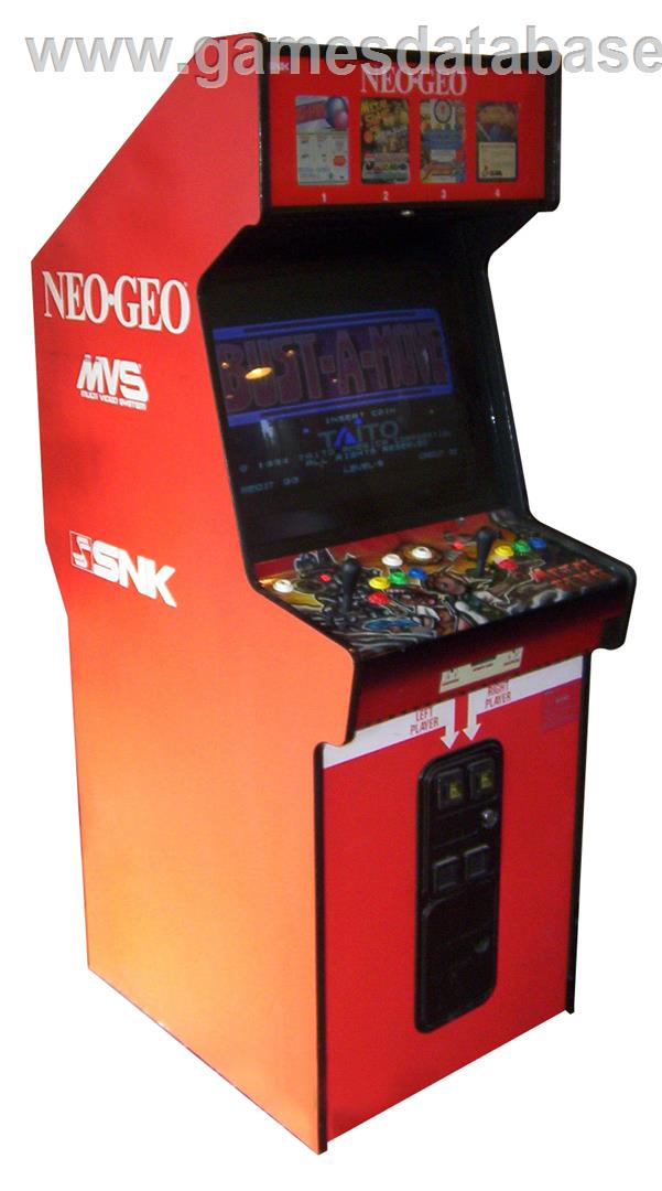 About SNK Neo Geo MVS Games Database
