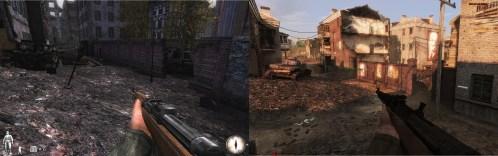 Comparação entre RO-Danzing e o seu remake RO-Apartaments