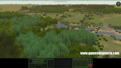 Mapas em Combat Mission: Red Thunder são fieis ao leste europeu
