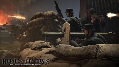 Heroes & Generals, jogo grátis de tiro da segunda guerra mundial