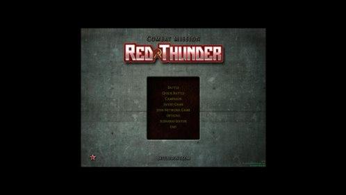 Interface não responsiva de Combat Mission: Red Thunder relembra jogos muito antigos