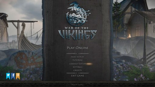 War of the Vikings tem interface bem trabalhada e trilha sonora empolgante